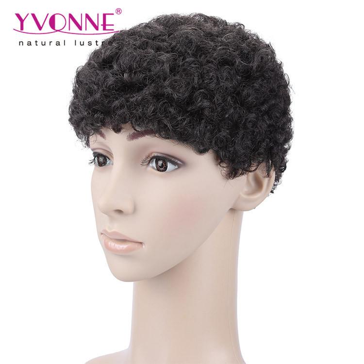 Hot Sales Short Hair Wig Men Full Lace Wigs