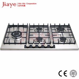 JY-S5103 New design big power gas hob/factory price gas cooktop with enamel pan support