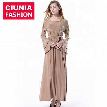 6051# Wholesale islamic products hot sell  women latest dress designs for muslim ladies islamic clothing abaya dresses
