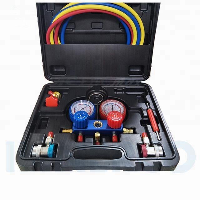 Manifold Gauge Kit in case