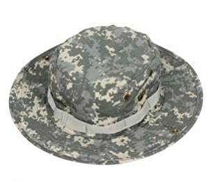 Get Quotations · ACU Camo Fishing Hunting Army Marine Bucket Jungle Cotton  Military Boonie Hat Cap 520e068d2ed