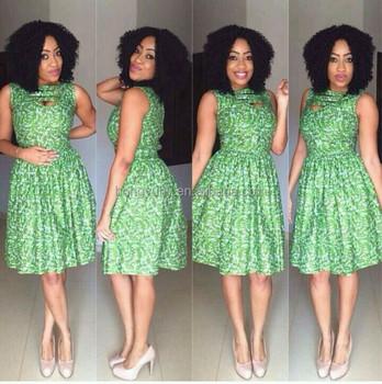 Ch309 Top Fashion African Designer High Waist Ankara Print African ...