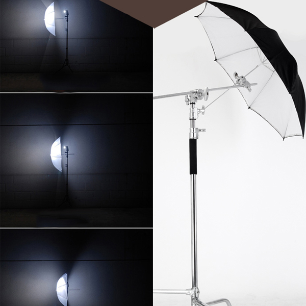 Flash Diffuser Reflective And Soft Umbrella 33 Inch Double Layer Reflector  For Studio Light - Buy Double Layer Reflector,33 Inch Double Layer