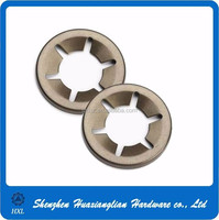 Factory supply m3 m4 m5 stainless steel self locking star washer