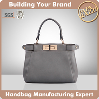 3679-Best selling branded designer fancy ladies' mini handbag 2016