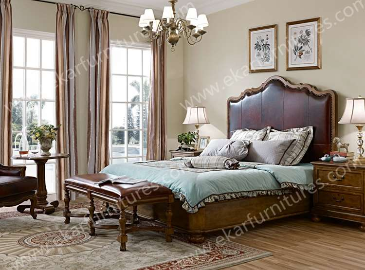 King Size Beds Wooden Beds Home Goods Furniture Luxury King Bedroom Sets Wooden Bed Buy King