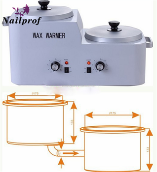 Nailprof. Large Capacity 5L Depilatory Wax Heater Hair Removal Hard Wax Beans Warmer Pot Paraffin Wax Heater with Filter