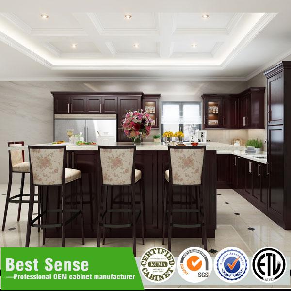 Solid Wood Walnut Kitchen Cabinets Solid Wood Walnut Kitchen Cabinets Suppliers And Manufacturers At Alibaba Com