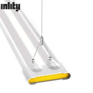 Cool White 6000K Indoor Linear Led Lights 48w Led Ceiling Batten Lamp CE ROHS