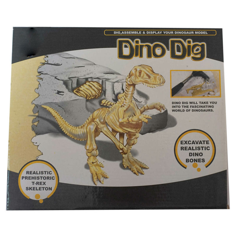 Dig dinosaur bone archaeology excavation toy