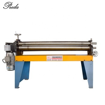 China supplier round duct machine thin plate rolling machine from factory sale