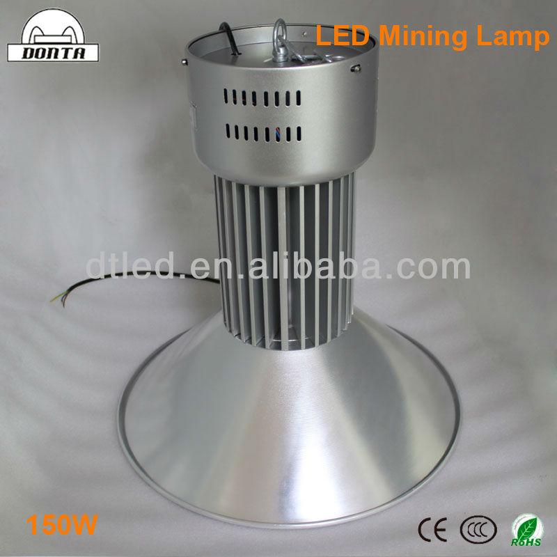 Super Led Cordless Mining Cap Lamp Industrial Lights 150w