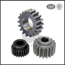 OEM steel pinion gear for paper shredder in China