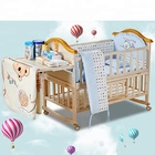 Single baby room crib/wholesale wood cheap baby crib China