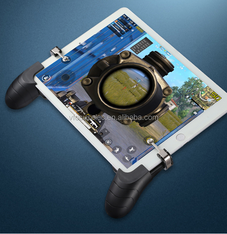 For Ipad Tablet Pad Pubg Gamepad With L1r1 Trigger Sharpshooter Controller  For Pubg,Rules Of Survival - Buy Tablet Pubg Joystick Gamepad Controller,3