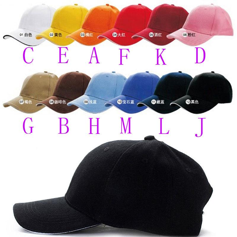 Unisex Brand Fashion Plain Baseball Cap Sports Golf Snapback Outdoor Simple  Solid Visor Hats Bone Gorras a40b85b9e5a4