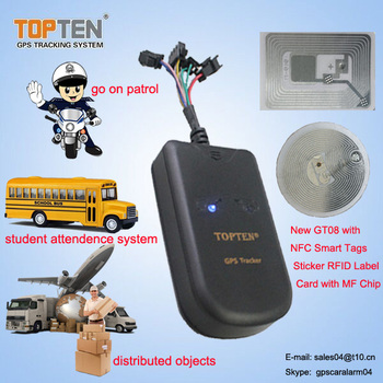 Gps Tracking System With Rfid Reader For Driver Identification And Driver  Activity Record - Buy Gps Tracking System,Rfid Reader Gps Tracking