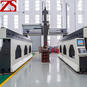 Maglev gantry 5 axis CNC equipment 360 degree machining workpiece