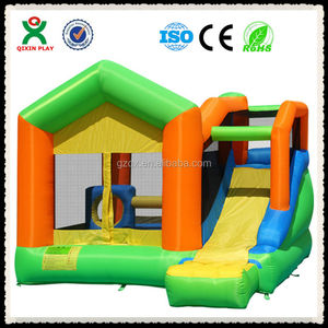 2015 Attractive design inflatable slide/jump bounce/bouncer inflatable/bouncy castles QX-11093F