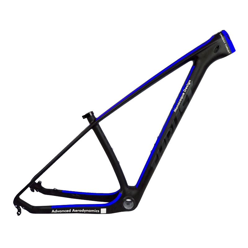 Alibaba.com / Bicycle carbon frame mountain bike 29 chinese carbon mtb frame 27.5er 29er 15 17 19 8 colors UD matte glossy support customized