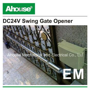 estate swing gate opener manual