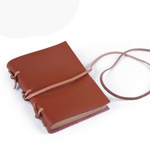 Custom Genuine Leather Business Notebook Handmade Ladies Travel Notebook Small Leather Bound Diary Notebook