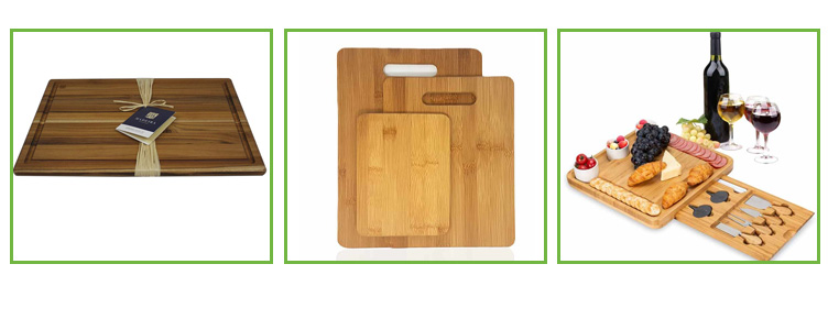 5 Slots Universal  Bamboo Wood Magnetic Kitchen Knife Block Rods Set 13