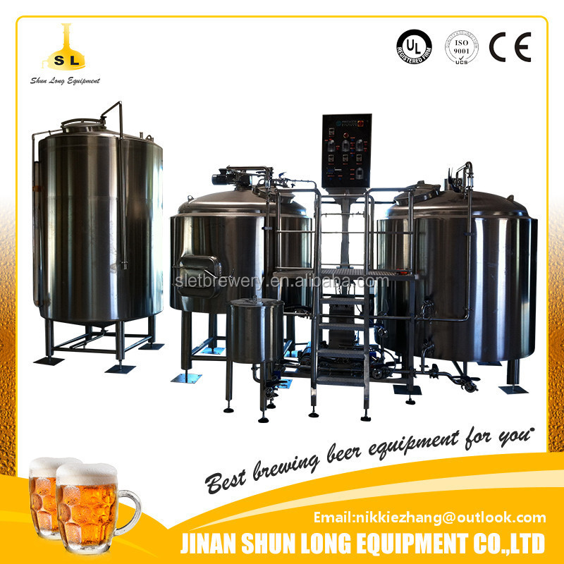 5bbl Best price draft beer making machine draught beer brewery equipment with fast delivery