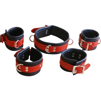 Leather Cuffs Band Bracelet Collar