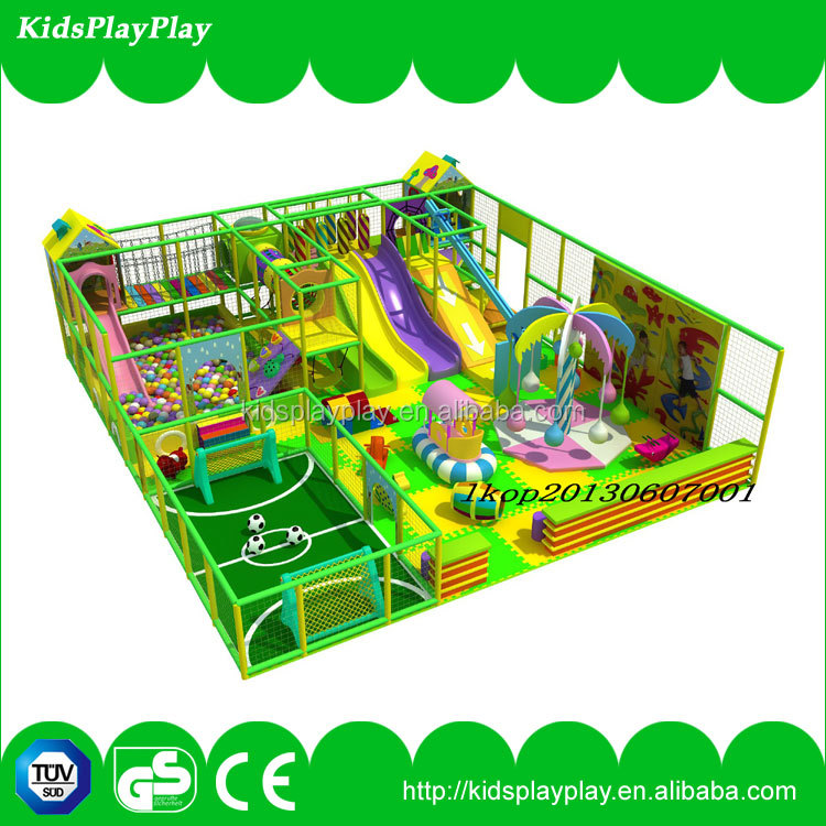 Dreamland CE approved small kids indoor playground play structure