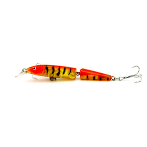 10cm100mm VMC Topwater Hard Artificial Glide Bait Bass Pike Trout Muskie Walleye Multi Jointed Fishing Lure Swimbait