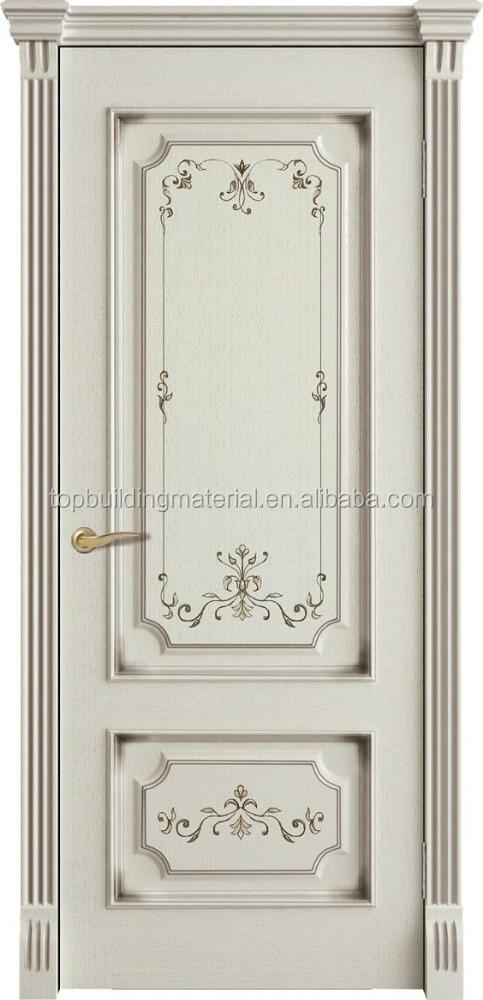 Classic White Solid Wood Bedroom Door Design - Buy Door Design,Bedroom Door,Classic  Door Product on Alibaba.com