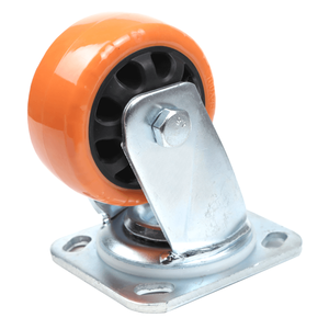 PU Scaffolding Caster 360 Degrees Steering Wheels Heavy Duty