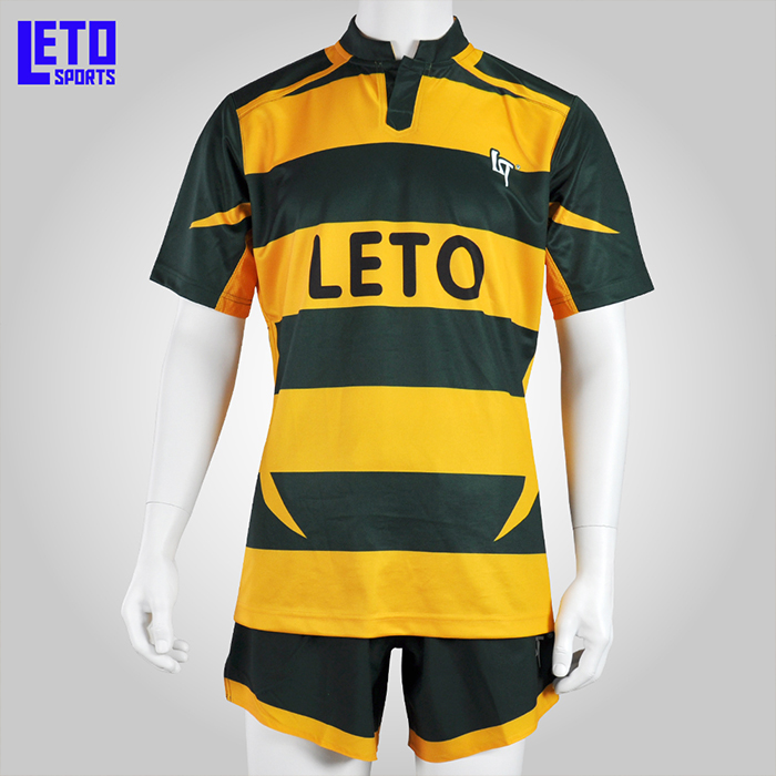 Full Sublimated Rugby Training T Shirts Professional Sports Wear Rugby Uniforms Grade Original Thai Quality Football Wear Rugby