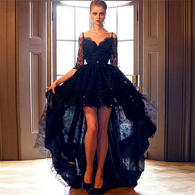 elegant black prom dresses - photo #21