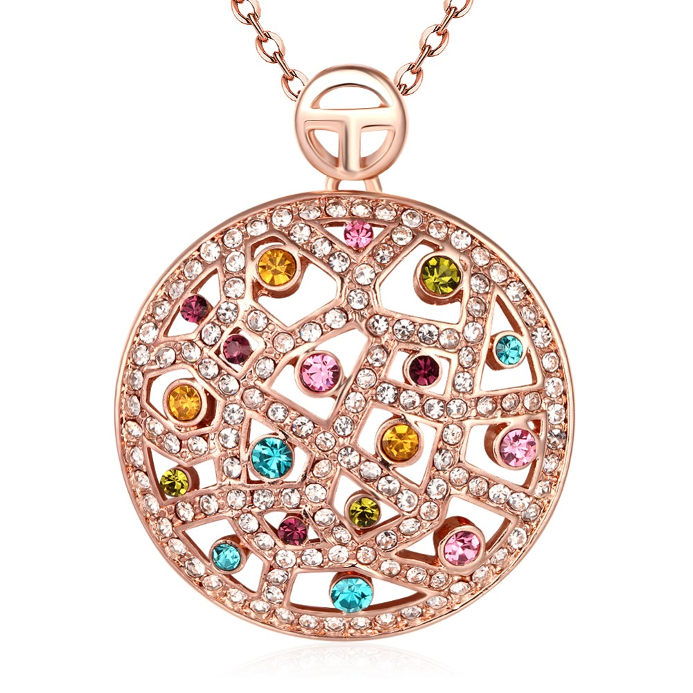 18k gold jewelry necklace for women jewelry wholesale