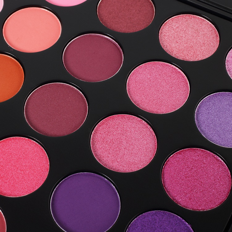 Wholesale private label cosmetics 35P color,organic eyeshadow palette