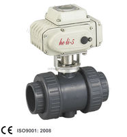 Electric UPVC Ball Valve With Actuator(HL-05)