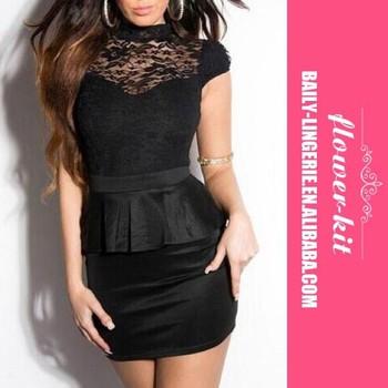 Black Peplum Dresses And Fashion Latest Formal Dress Patterns Buy