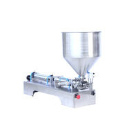 China Packaging machinery Automatic liquid paste jelly milk water yogurt filling machines for cup