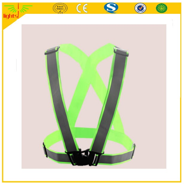 new design products cycling running reflective safety vest belt