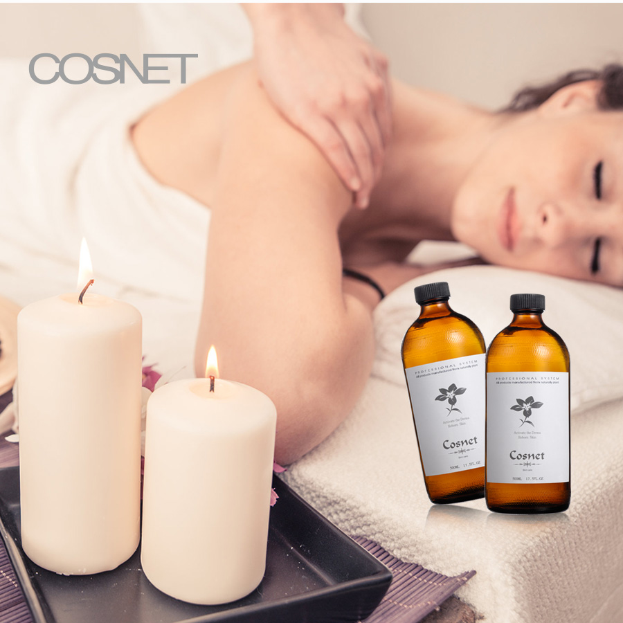 Private label full body relaxed oil massage essential oils