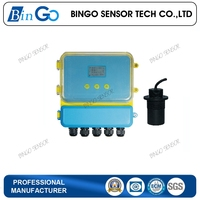 Chemical Channel Ultrasonic Level Sensor For Tank
