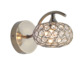 china factory best low price crystal ball metal chrome modern wall decorative lamp