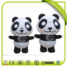 NEVERLAND TOYS Customized panda shapes advertising inflatable cartoon,Advertising shape inflatable for promotion