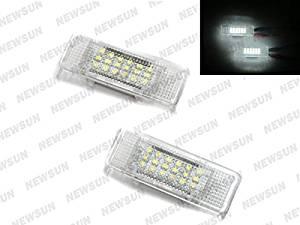 Nslumo 7000k Xenon White LED Courtesy Door Light for BMW E53 X5 E39 E52 Z8 Error Free LED Car Door Welcome Light for BMW E53 X5 E39 E52 Z8