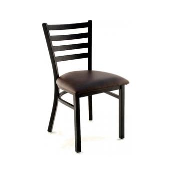 Metal Frame Metal Leg Leather Chair