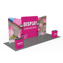 10*20ft Portable Standard Panel Custom Design Aluminum Display Stand Modular Exhibition System
