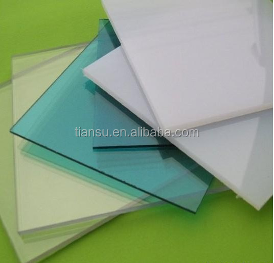 Municipal engineering plastic Polycarbonate solid sheet for project and roof window