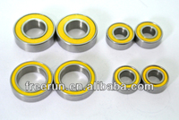 High Performance CROSS-FIRE FORCE F1 ELECTRIC ceramic bearing kits with different rubber seal color